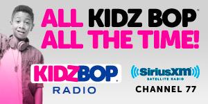 KIDZ BOP RADIO on SiriusXM