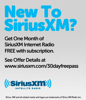 Get One Month of SiriusXM Free with Subscription.  KIDZ BOP RADIO.