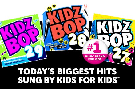 Kidz Bop - Today's Biggest Hits Sunb By Kids For Kids