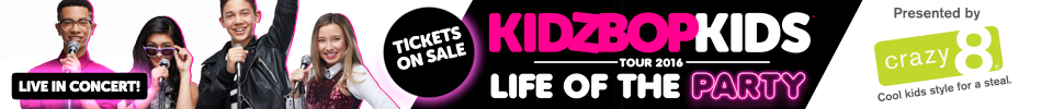 See the KIDZ BOP Kids on Tour in 2016