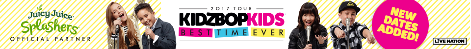 KIDZ BOP Kids Live 2017 Best Time Ever Tour